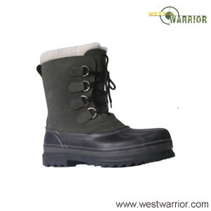 Military Stitched Snow Boots with Wool Lining (WSB016) pictures & photos