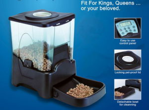 Pet Products--Large-Capacity Automatic Pet Feeder
