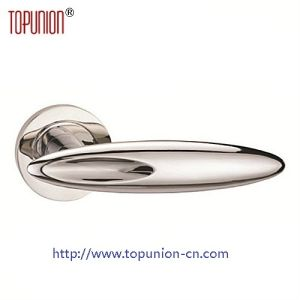 High Security Stainless Steel Door Lever Handle (CLH007) pictures & photos