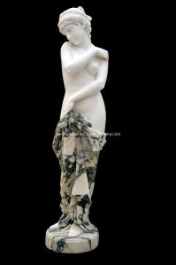 Marble Lady Statue Sculpture (STT351) pictures & photos