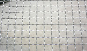 Galvanized Crimped Wire Mesh Fencing