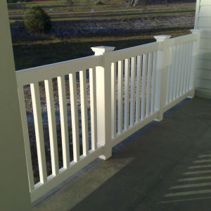 High Quality PVC Railing pictures & photos