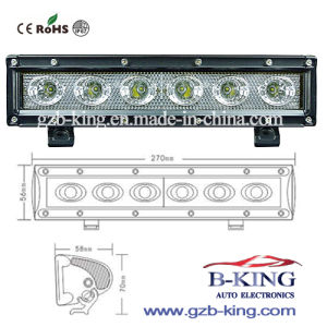 10.5 Inch 1-30V 30W IP67 CREE LED Light Bar pictures & photos