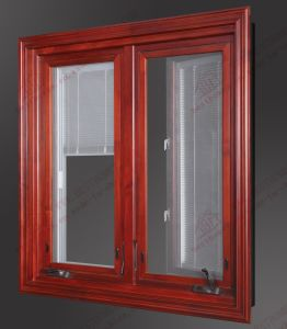 American Style Aluminium Casement Window with Built-in Shutters (BHA-CW02) pictures & photos