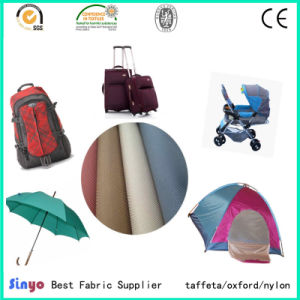Manufacturer of PU /PVC Coated 600d Oxford Fabric for Making Bags Tents pictures & photos