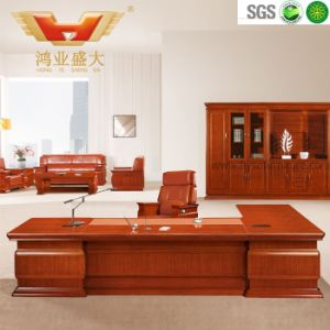 Modern New Design Office Table Executive Desk Stainless Steel Frame pictures & photos
