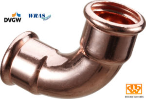 Copper Press Fitting (M001) Copper Pipe for Water and Gas pictures & photos