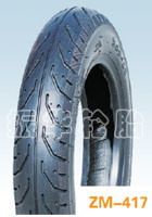 Motorcycle Tyre Zm417 Tubeless