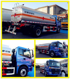 15000liters Oil Transportation Fuel Tank Truck for Saudi Arabia pictures & photos