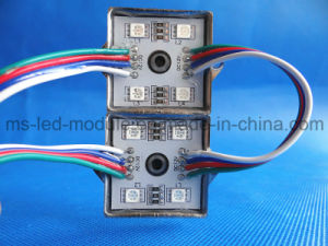 SMD 5050 4LED Lron Module RGB Waterproof DC12V pictures & photos
