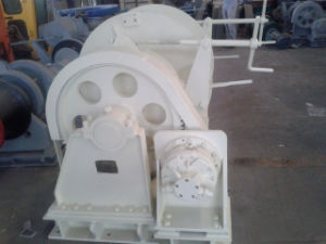 Electro-Hydraulic Power Pack Marine Mooring Winch 1000kn at 0 to 6 M/Min pictures & photos