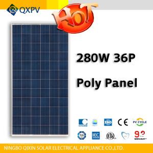36V 280W Poly PV Panel pictures & photos