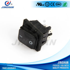 Jinghan Kcd4-130fs/4pn Illuminated Waterproof Rocker Switch Square Colors pictures & photos