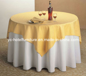 High Quality Classy Double Layers Table Cloth (YC0299) pictures & photos