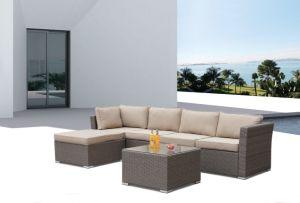 Patio Rattan Home Hotel Office Garden Massa Lounge Set Outdoor Sofa (J666) pictures & photos