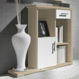 Hall Furniture Wooden Storage Cabinet with Door Drawer Shelves (SC02) pictures & photos