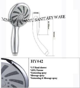 Hand Shower Head, Handheld Shower, Shower Head (HY042) pictures & photos