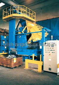 Tumblast Shot Blasting Machine for Cleaning Metal Parts pictures & photos
