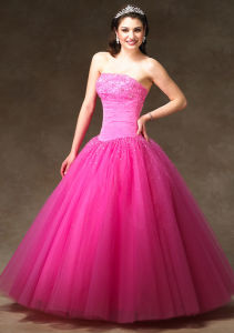 Prom Dress-0184 (Princess Style Party Dress)