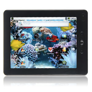 Mid 8 Inch Android 2.2 S5PV210 CPU Gravity Sensor WiFi HDMI 1080p Support Flash 4GB