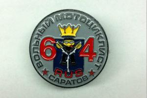 Black Nickel Plating Metal Pin Badges Soft Enamel Pin Badges pictures & photos