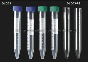 Centrifugation Tube 15ml Conical ISO 13548 FDA Approved pictures & photos