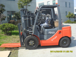 High Quality1.5 Ton Diesel Forklift Truck