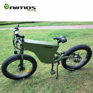Super Power Stealth Bomber 1000W Fat Tire Ebike pictures & photos