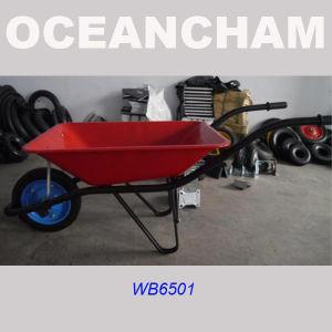 Wb6501 Pneumatic Wheel Wheelbarrow with SGS ISO