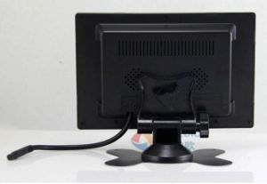 2 AV Input 7inch Stand Alone Car TFT LCD Monitor with Touch Key &Digital Screen 800*480 pictures & photos