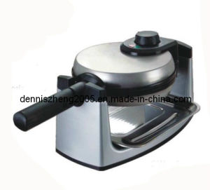 1 Inch Thick Belgian Flip Waffle Maker, Brushed Stainless Steel