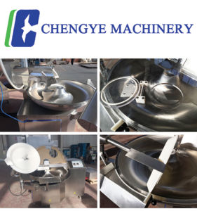 380V Meat Bowl Cutter / Cutting Machine Zb80 CE Certification pictures & photos