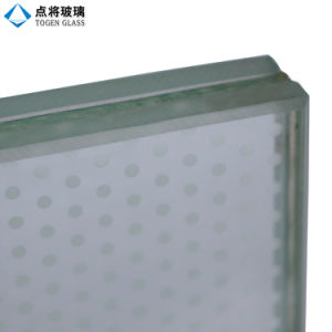 Customized Colorful Silk Screen Printing Laminated Glass pictures & photos