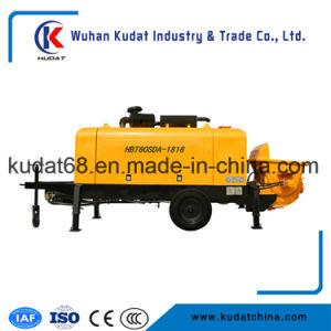 60m3/H Diesel Trailer Concrete Pump Hbt60sda pictures & photos