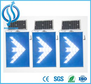 Traffic Sign Solar LED Arrow Sign pictures & photos