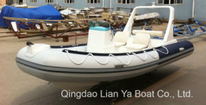 Small Size Rigid Inflatable Boat Rib Boat Fishing Boat Speed Boat pictures & photos