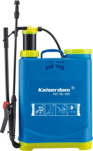 Agriculture Hand Backpack Knapsack Pressure Sprayer 16L with Good Quality (KD-16L-003) pictures & photos