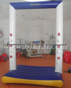 New Inflatable Water Park Floating Door, Inflatable Floating Island Water Sports D3049 pictures & photos