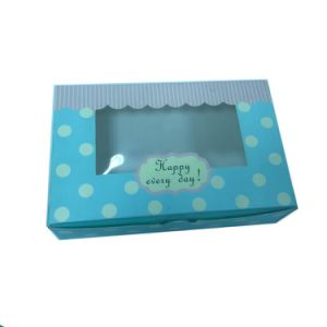 Luxury Ivory Paper Packaging Food Box for Desert pictures & photos