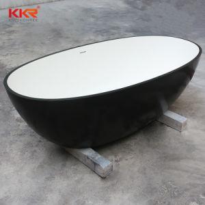 2017 Kkr New Design Modern Corian Solid Surface Freestanding Bathtub pictures & photos
