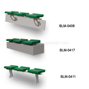 Blm-0411 Cheap China Blow Moulding Stadium Seats Wholesale Plastic Chairs (BLM-0411) pictures & photos