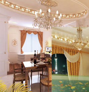 Interior Decorative Polyurethanes (PU) Crown Cornices Moulding pictures & photos
