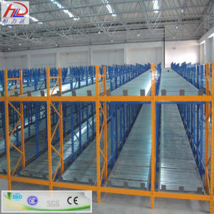 Heavy Duty Warehouse Gravity Pallet Racking with Cheap Price pictures & photos