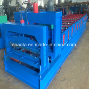 Glazed Roofing Tile Roll Forming Machine pictures & photos