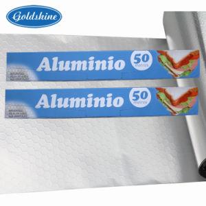 Free Sample Embossing Aluminium Foil Roll pictures & photos
