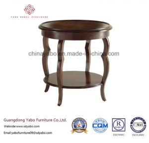 Modern Hotel Furniture with Wooden Side Table with Shelf (20-055-1) pictures & photos