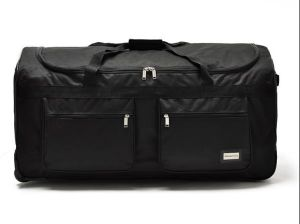 "21"" 40lb Black Rolling Wheeled Duffle Bag Carry on Suitcase Luggage pictures & photos"