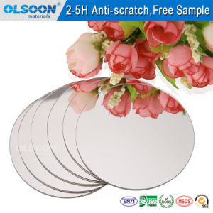 0.8-6mm Acrylic Mirror/Cosmetic Mirror/Makeup Mirror/Silver Mirror/Bathroom Mirrors pictures & photos