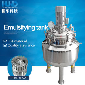 Stainless Steel Emulsifyin Lotion Cosmetic Liquid Mixing Tank pictures & photos