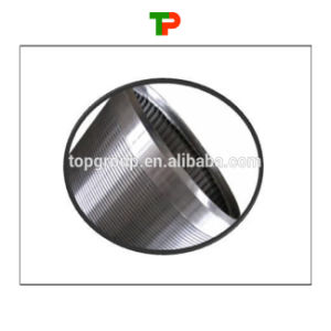 Continuous Slot Wraped Wire Screen Pipe pictures & photos
